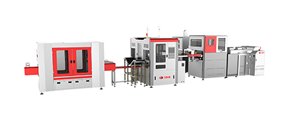 LY-HB2500CK High Speed Intelligent Rigid Box Making Machine